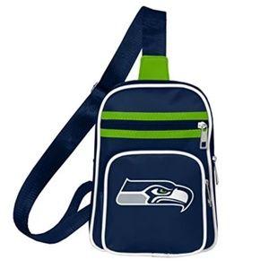 Seattle Seahawks Mini Sling Backpack Bag NWT